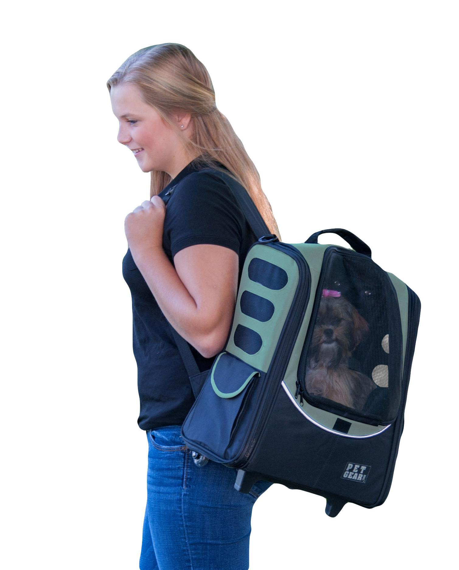 Amazon Pet Gear I GO2 Sport Roller Backpack for cats and
