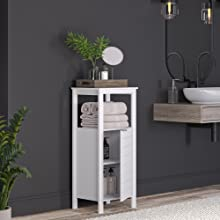 single door floor cabinet