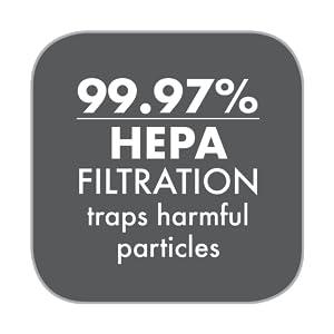 Triple HEPA Filter System