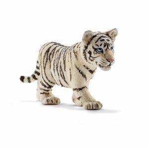 Schleich baby white tiger, wildlife baby tiger, baby tiger cake topper, Safari LTD., wildlife play