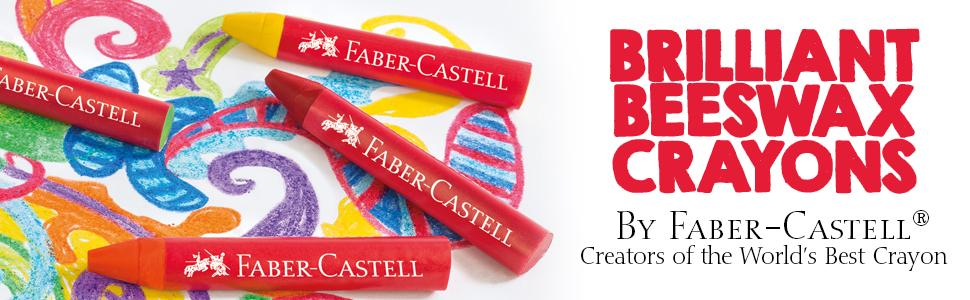 brilliant beeswax crayons, faber castell beeswax crayons, faber-castell beeswax crayons