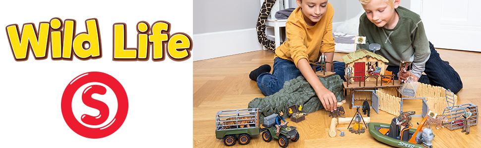 wild life, schleich wild life, schleich wild animals, wild animals, animal figurines, toy, toys,