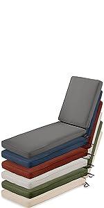 Montlake FadeSafe Chaise Lounge Cushion