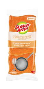 Esponja, Scotch-Brite, fibras, limpeza, durabilidade, eficiente