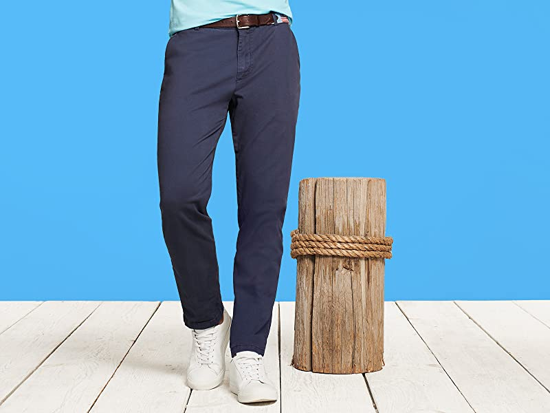 IZOD Men/'s Saltwater 5-Pocket Straight Fit Chino P Choose SZ//color