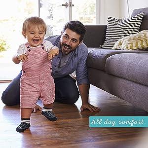 Little Me Baby-Boys Newborn 6 Pair Socks Multi Colour
