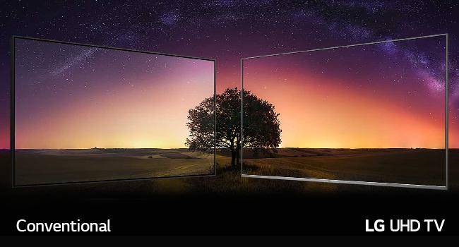 IPS, IPS4K, 100%ColourAccuracy, realism—displaying, LGTV, UHDTV