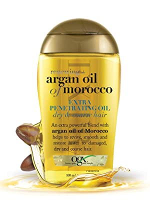 Vogue,ogx,hydrating oil,hair oil,hair repair,argan oil for hair,dry hair,coarse hair,natural hair