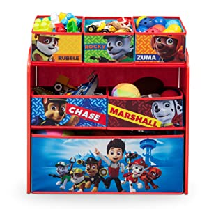 Delta Children 6-Bin Toy Storage Organizer, Ninja Turtles