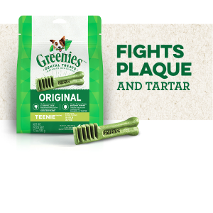Fights Plaque and Tartar, Oral Care, Dental Care Dog Chews, Greenies Dental Treats