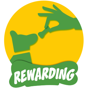 Rewarding dog