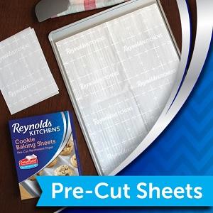 Pre-cut parchment sheets