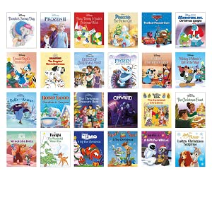 books, disney, christmas, festive, advent calendar