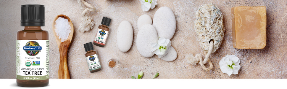 garden of life tea tree essential oils