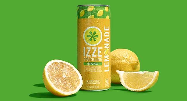 izze lemonade