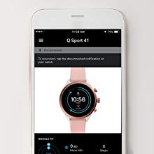 Watch compatible with Apple and Android