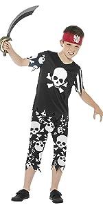 Totenkopf Pirat Jungen