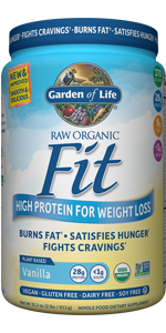 garden of life raw organic fit