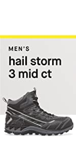 5c82cc5ad7f1 Amazon.com  Fila Men s Hail Storm 3 Mid Composite Toe Trail Work Shoes  Hiking