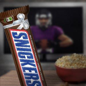 Nothing says teamwork like sharing a giant chocolate bar made by SNICKERS.