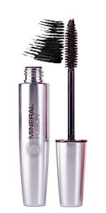 mascara, volumizing jet, mineral fusion cosmetics