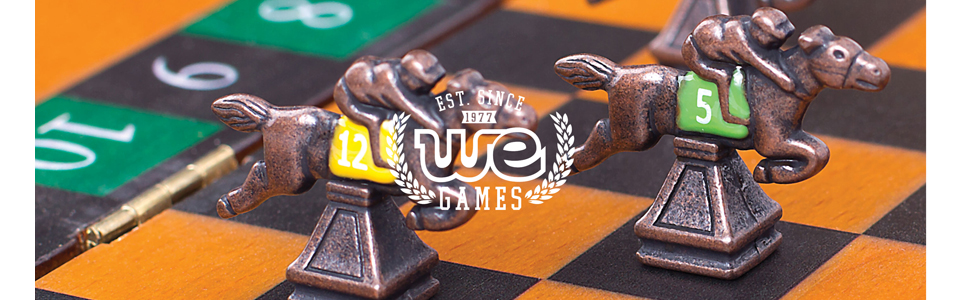 WE Games since 1977 wooden high quality traditional games like chess checkers backgammon