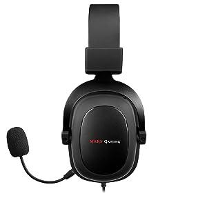 Mars Gaming Mh5 7 1 Surround Kopfhörer 53mm Treiber Computer Zubehör