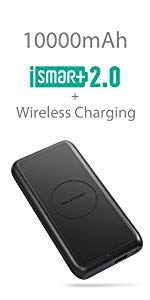 10000mAh 5W Fast Wireless Portable Charger