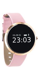 hybrid android smartwatch damen whatsapp smartwatch android frauen damen uhren in gold