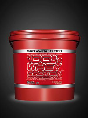 Scitec Nutrition 100% Whey Protein Professional con aminoácidos clave y enzimas digestivas adicionales, 5 kg, Chocolate