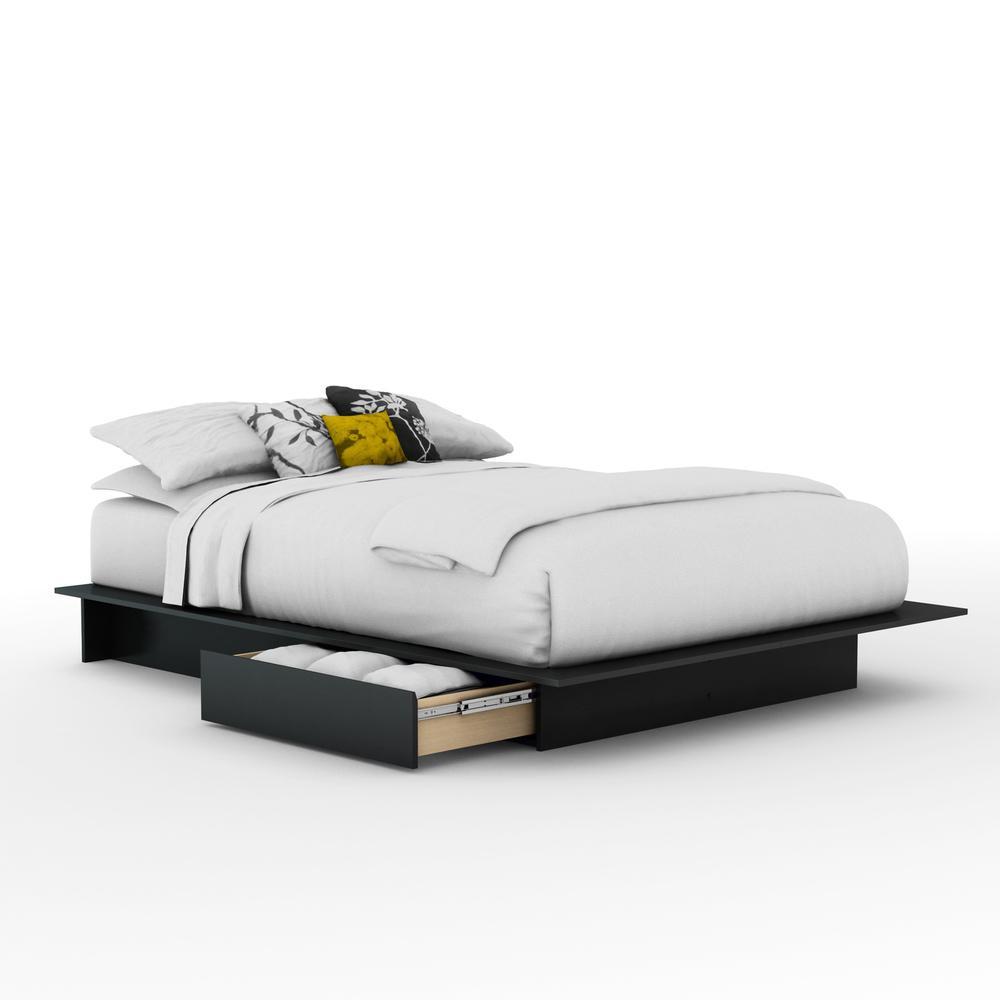 100 queen bed frame no boxspring needed zipcode design nona