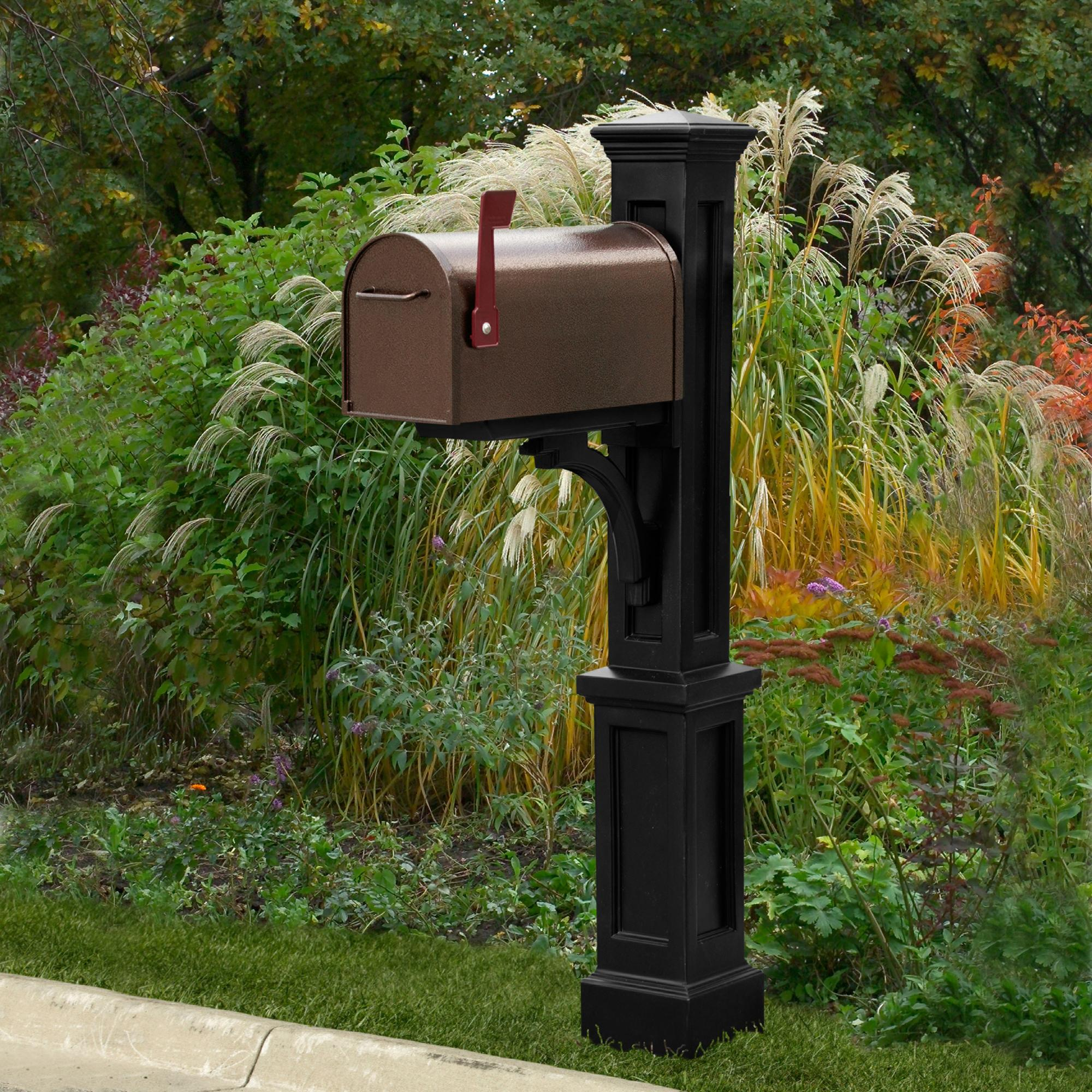 pedestal only poles dp from manufacturer the mail mailbox plus mayne granite newport post