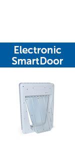 PetSafe Smart Door pet door electronic connected chip durable app convenient
