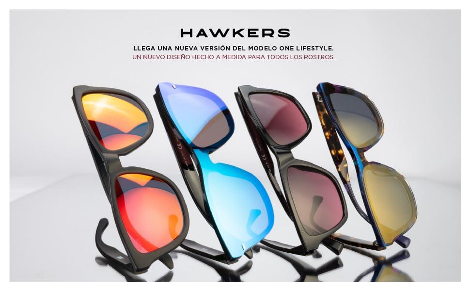 HAWKERS - Gafas de sol para hombre y mujer ONE , Turquesa: Amazon ...