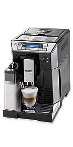eletta black coffee machine delonghi