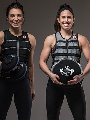 Hyperwear weight vest and fitness training gear