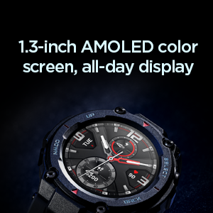 AMOLED Display Watch