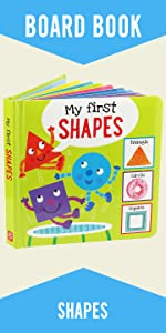 My First Shapes Board Book