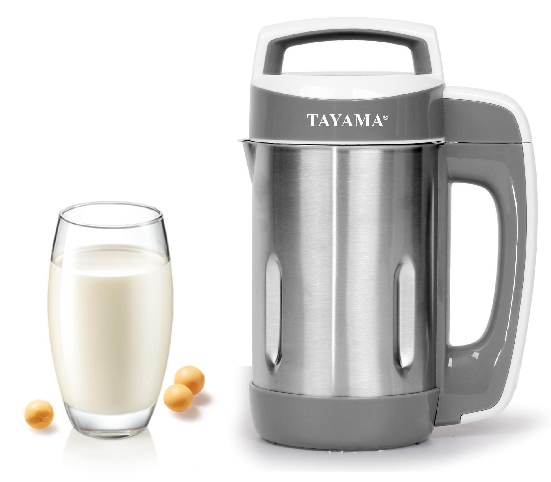 Amazon Tayama Stainless Steel Soymilk Maker 1 1L Kitchen