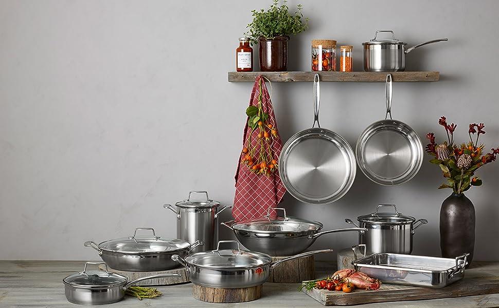 scanpan, impact, stainless steel, aluminium, cookware, induction