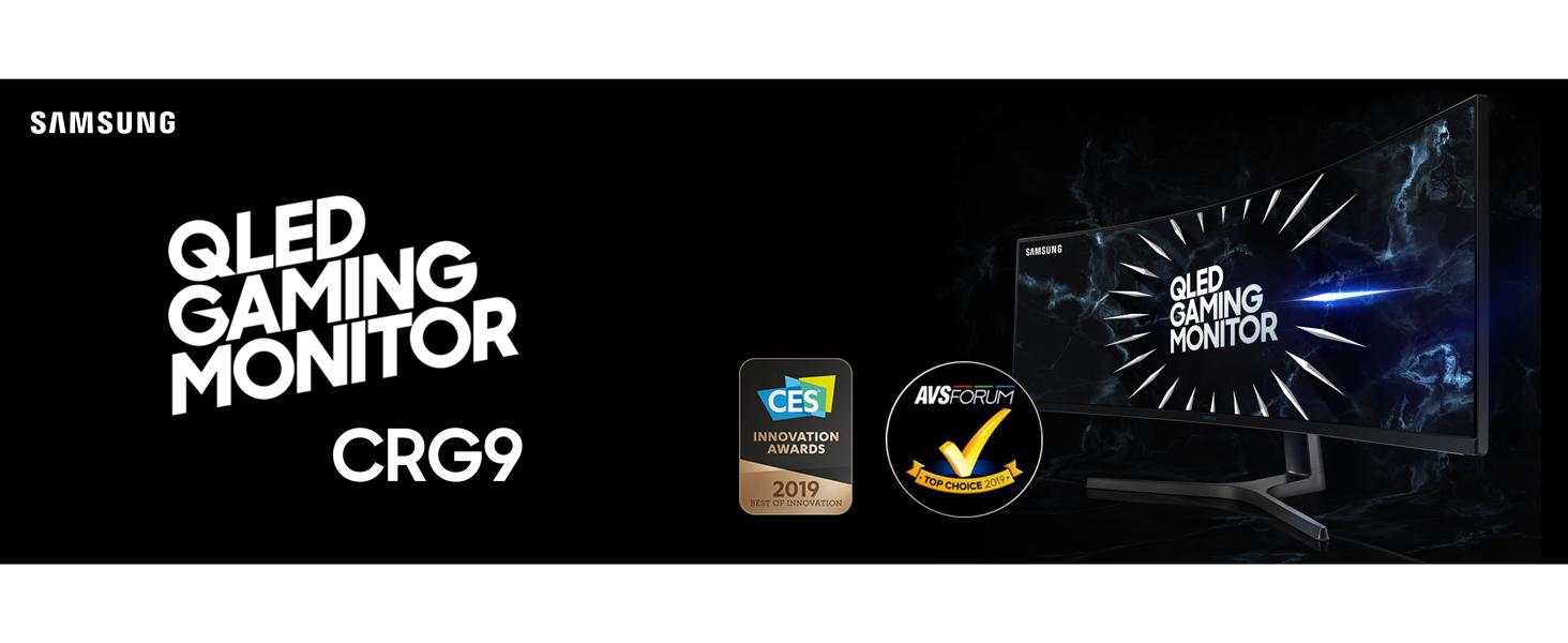 Samsung QLED Gaming Monitor CRG9