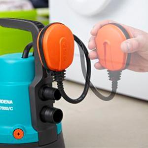 gardena classic tauchpumpe 7000 klarwasserpumpe mit 7000. Black Bedroom Furniture Sets. Home Design Ideas