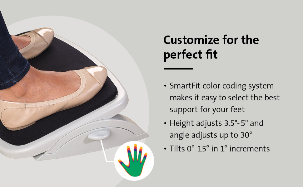 Customize for the perfect fit