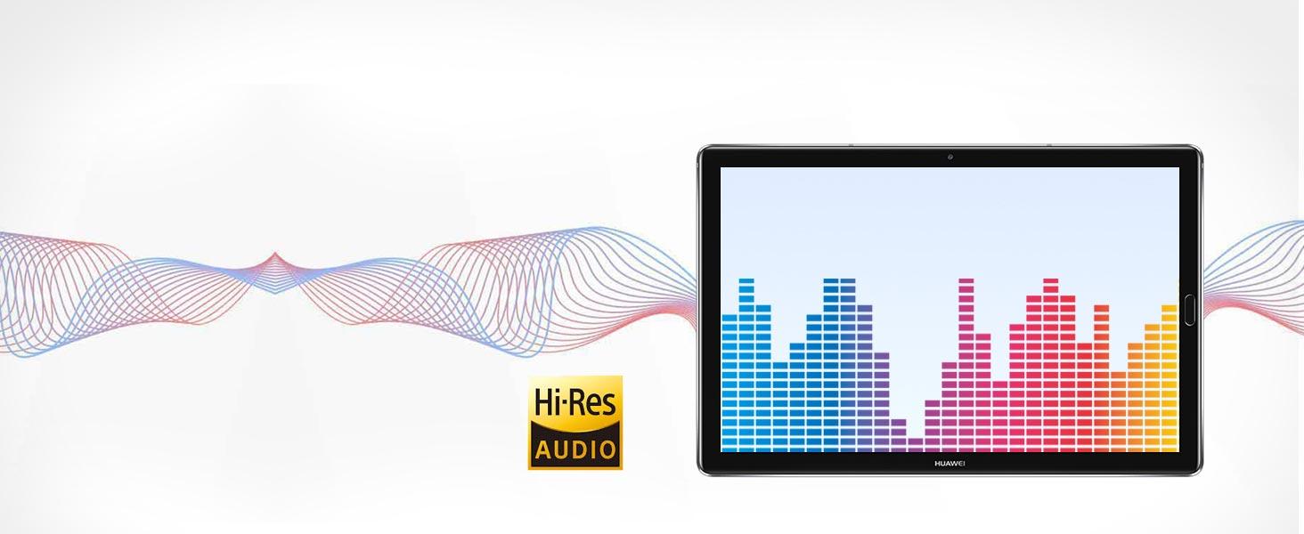 Ausgestattet mit Hi-Fi DAC AK4376, Hi-Res-Audio wird vollständig unterstützt.