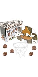 Poop Shoot, The Novelty Poop Basketball Game - Fairly Odd Novelties