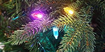 Upclose Shot Multicolored Lights