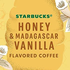 Starbucks Honey amp; Madagascar Vanilla Flavored Coffee