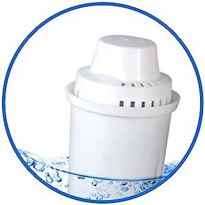 6er Pack Commercial Cool Wasserfilterpatrone CCWFB6 kompatibel mit Brita NEU