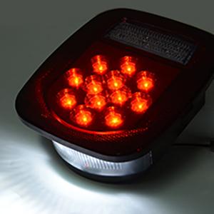 running light, license plate light