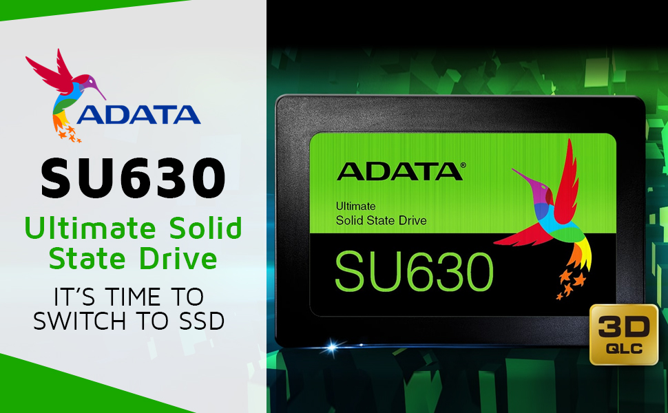 Ultimate SU630 3D NAND SSD SPN-FOR1
